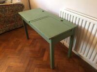 Upcycled Vintage School Desk