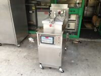 FULL SERVICED HENNY PENNY FASTRON CHICKEN FRIED PRESSURE MACHINE FRYER CATERING COMMERCIAL KITCHEN
