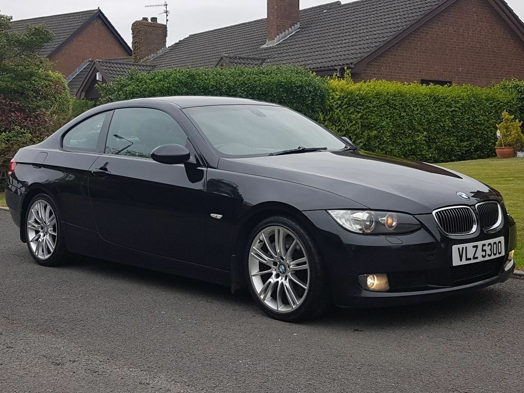 2006 bmw 330d coupe semi automatic 230bhp diesel stunning car motd e90 e92 e60 black leather. Black Bedroom Furniture Sets. Home Design Ideas