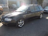 (AUTOMATIC)AUDI QUATTRO A6 ESTATE ,3.LITRE,FULL YEARS M.O.T...