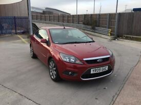 FORD FOCUS 2.0 AUTOMATIC SERVICE CONVERTIBLE HISTORY NEW MOT