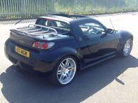 2004 (JUN 04) SMART ROADSTER 0.7 BRABUS TARGA - 2 Dr Convertible - AUTO - Petrol - BLACK *RARE/MOT*
