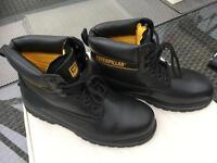 Caterpillar steel toe capped safety work boots