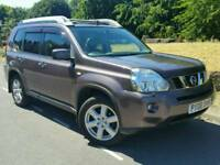 2008 NISSAN X-TRAIL EXPLORER EXT'M DCI*FSH*1 OWNER*SAT-NAV*LEATHER*PAN-ROOF*PARKING CAMERA*#JEEP#SUV