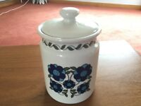 Pretty, Useful, TAUNTON VALE Storage Jar in Very Good Condition- only £1!