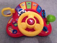 VTech Baby Tiny Tot Driver Toy, interactive, fun, learning, girls and boys