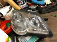 Pair of Polo 9n3 genuine headlights