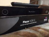 Manhattan Plaza HDR-S Freesat+ HD 320GB Satellite Recorder,Twin Tuner,1080P