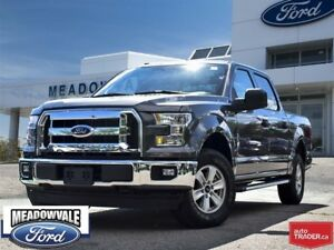 2017 Ford F-150 XLT,TOW PKG,PW,PL,A/C,KEYLESS ENTRY