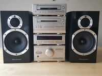 Technics ST-HD301 - 302 HIFI with Wharfdale 100w speakers