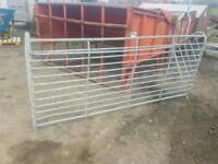 8ft sheep horse hay feeder rack farm livestock tractor