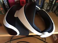 Playstation VR headset and motion controllers