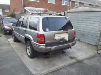 Grand cherokee jeep ltd lpg 4.0 spares or repair