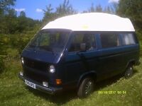 VW T25/T3 Reimo camper, 2.1Fi with LPG
