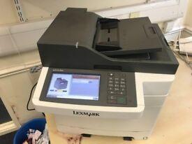 Lexmark CX510de A4 Colour Multifunction Laser Printer / Scanner (1)