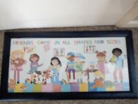 PICTURE FOR KIDS ROOM/PLAY ROOM (BRAND BEW)