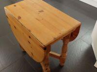 Pine Drop-leaf Table