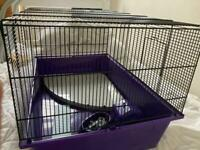 Hamster cage extra large - purple