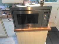 Smeg integrated microwave