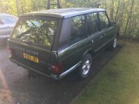 Range Rover LPG kit
