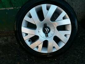 Citroen alloys