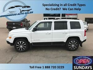 2013 Jeep Patriot AC, CRUISE, 4X4......FINANCE NOW!!!!!