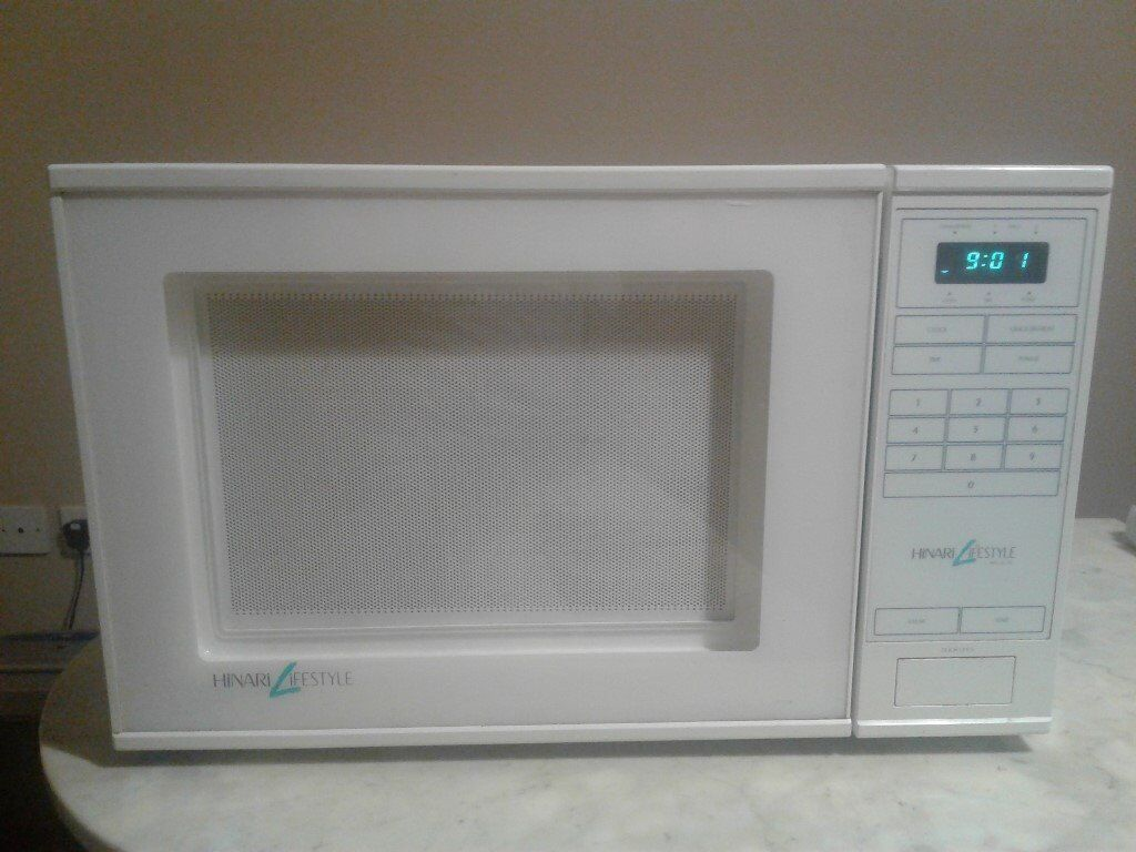Microwave Oven Hinari White In Norwich Norfolk Gumtree