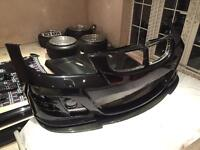 Bmw e90 kerscher front bumper