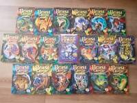 19 Children's Beast Quest books including 1 bumper edition. Very good condition.