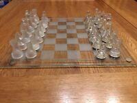Glass Chess Set: Arbroath & Turnbury limited edition