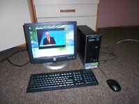 HP Pavilion Slimline s3350 + Screen + Keyboard + Mouse !! FREE VIEW!!