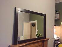 Dark wood mirror for sale