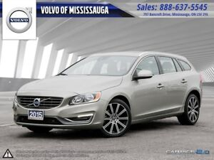 2015 Volvo V60 T6 AWD from 0.9%-6Yr/160,000 - Mississauga