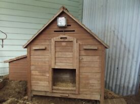 Chicken House with Remote Door Open/Close + Accessories