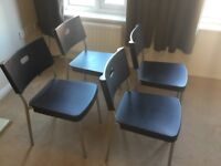 FOUR IKEA CHAIRS FOR SALE