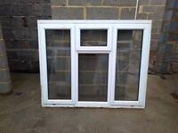 Two uPVC double glazed windows