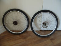 "Mountain bike wheelset 26"" disc brake"