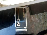 D&g belt buckle as new