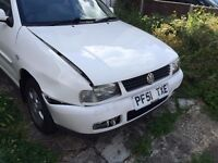 *WANTED* - VW POLO 2001 - Breaker/Spares/Parts - (FRONT END - BUMPER/WING/FRONT PANEL/ETC)
