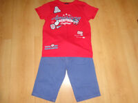 Boys Summer Shorts and T-shirt bundle 11 -12 years