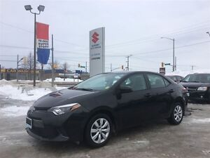 2015 Toyota Corolla LE ~Low Km's ~Backup Camera ~Toyota Quality