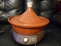 Tefal 2 litre TAGINE electric slow cooker for up to 8 people