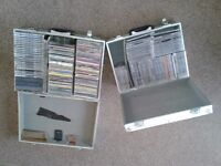 DJ,s Collection of CDs.