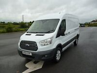 May 2016 Ford Transit with only 1205 miles