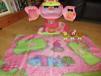 My Little Pony Ponyville Pinkie Pie BALLOON House Playset - in GREAT CONDITION