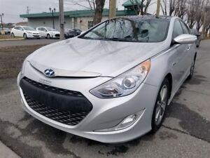 2012 Hyundai Sonata HYBRIDE-PREMIUM- NAVI-TOIT PANO-CUIR-CAMÉRA!