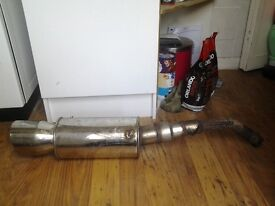 Universal sports exhaust for sale