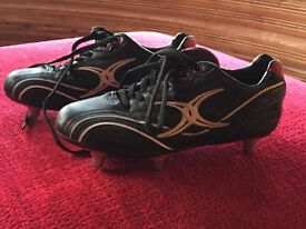 Kids 'Gilbert' rugby boots - hardly used