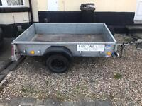 Ifor Williams single axle trailer