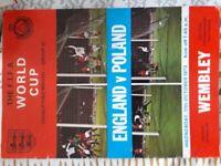 England Poland Programme 1973